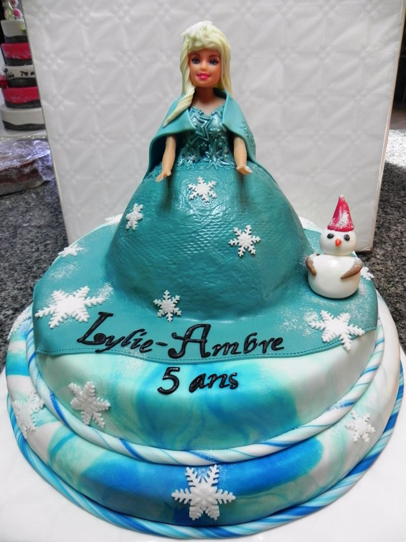 Cake Reine Des Neiges : Frangipany - Wedding Cakes : Wedding-cake thme